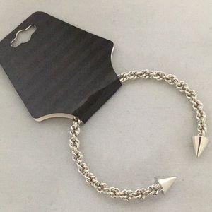 Jewelry - Twisted Silver Bangle